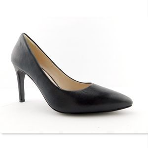 COLE HAAN Black Leather Classic Heels Pumps 6.5